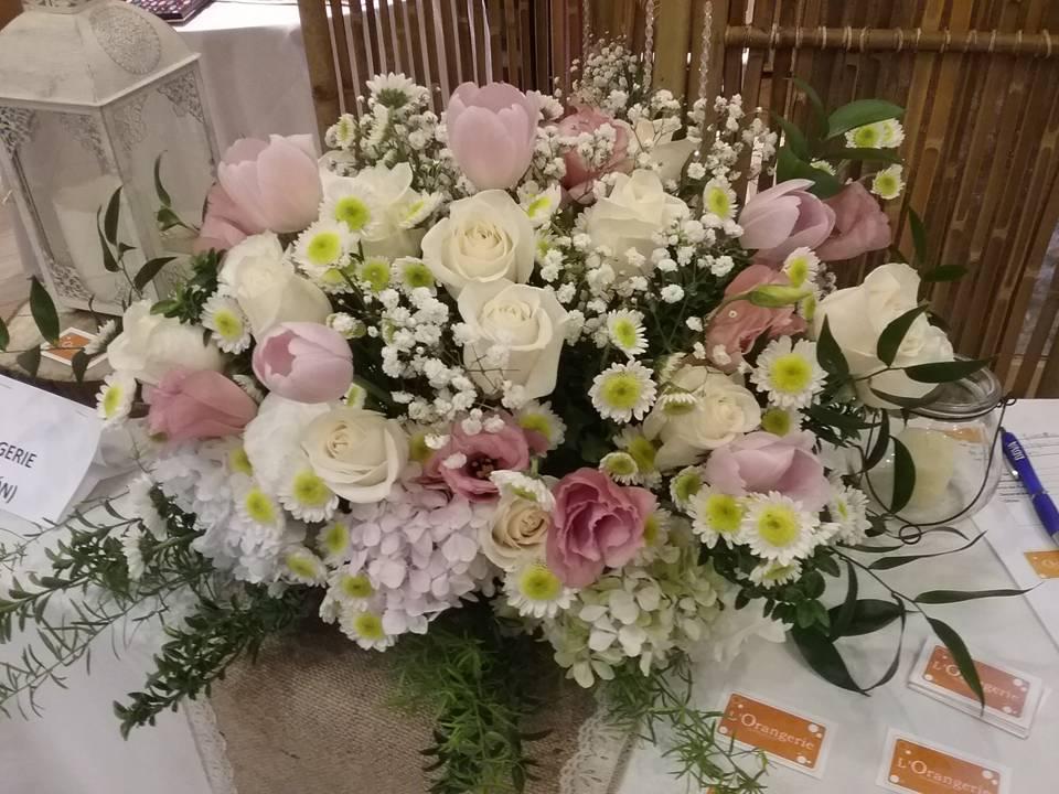 Arreglo de Flores para el altar